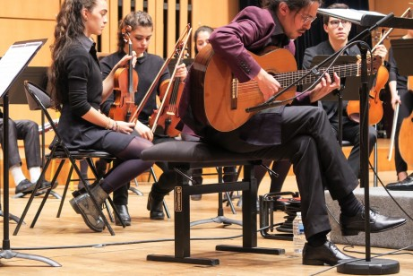 Fabian Cardozo and Orchestre des Jeunes du CRR de Paris - 2 May 2018 - low